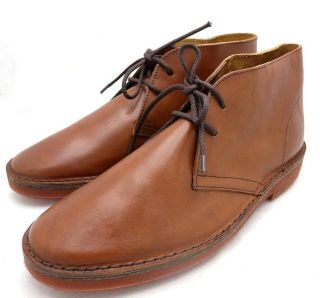 Crew MacAlister Brickman Boots 12 $168 Rich Brown Shoes Leather Mens