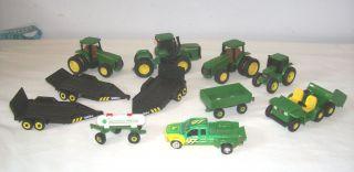 John Deere Toy Tractors Trailers Truck Gator Tonka Maisto Ertl