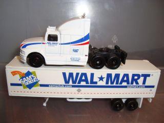 Maisto Semi Tractor Trailer Wal Mart Truck