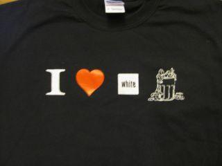Love White Trash Funny Trailer Park Heart T Shirt