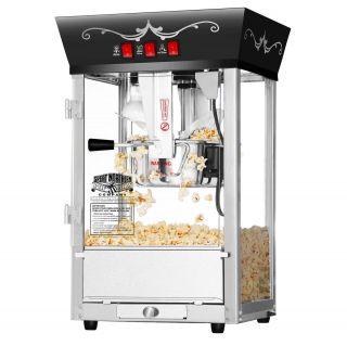 Great Northern Popcorn Black Antique Style Popcorn Popper Machine 8