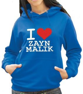 Love Zayn Malik Hoody Hoodie Hooded Top Any Colour or Size 1337