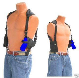 Shoulder Holster With Double Magazine holder for TAURUS PT709 SLIM