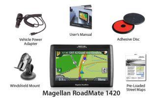 Magellan Roadmate 1420 GPS Vehicle Navigation System