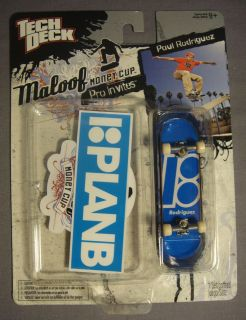 Tech Deck Maloof Money Cup Pro Invites Plan B Paul Rodriguez