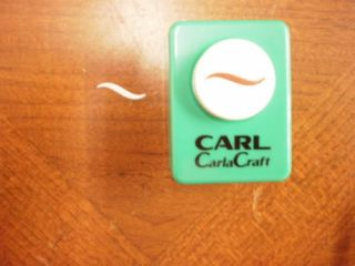 Carla Craft Wave Small Paper Punch