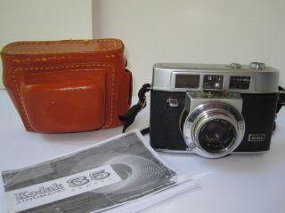 Vintage Kodak Automatic 35mm Camera Manual Case