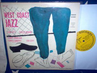 Stan Getz West Coast Jazz Manne Norgran MGN 1032 LP