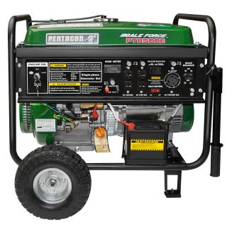 Pentagon Tools Emergency RV Portable 8500 Watt Peak Quiet Gas