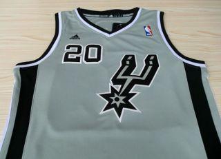San Antonio Spurs Manu Ginobili 20 Swingman Jersey