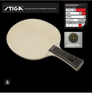 Stiga Maplewood NCT V Table Tennis Ping Pong Racket