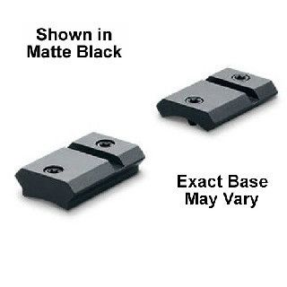 Leupold Quick Release Weaver Style 2 Piece Base Win 70 Matte Black