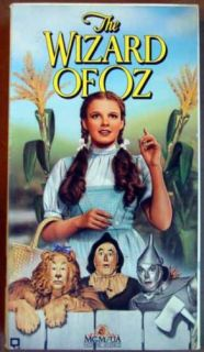 Wizard of oz VHS Judy Garland Margaret Hamilton 027616000132