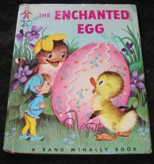 THE ENCHANTED EGG Vintage Tip Top Elf Book Peggy Burrows Elizabeth