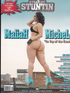 Stuntin Magazine Issue 22 Maliah Michel on Top of The Game
