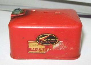 Old Toy Kiekhaefer Outboard Motor Gas Tank L K