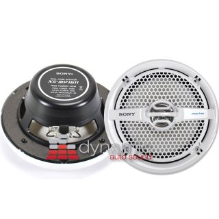 Xplod Series Dual Cone Full Range Marine Speakers Pair New