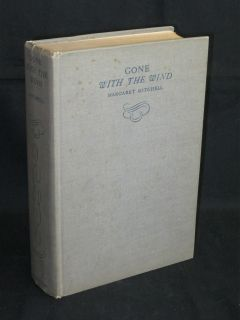 Margaret Mitchell GONE WITH THE WIND 1936 HC Second Printing June 1936
