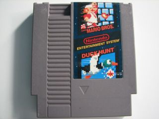 NES Cartridge Only TESTED and CLEANED Super Mario Bros. Duck Hunt USED