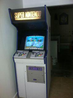 Custom Built Super Nintendo Arcade Machine