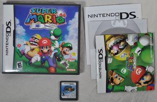 Super Mario 64 DS Game 2004 Case Manuals