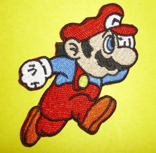 Super Mario Brothers Nintendo Wii Luigi Logo Patch Iron