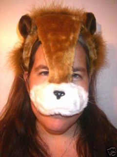 Lion Kitty Cat Headband Mane with Ears Face Mask A25