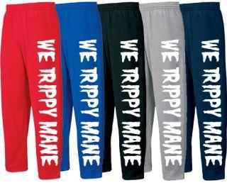 We Trippy Mane Sweatpants T Shirt Hoodie Mesh Jersey