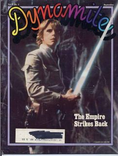 Mark Hamill STAR WARS The Empire Strikes Back DYNAMITE 76 Gymnast Kurt