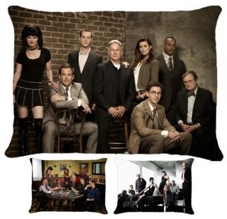 New NCIS Mark Harmon Michael Weatherly Pillow Case 3 Choices