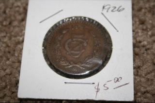 Set of Mexican Coins