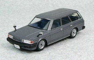 Aoshima Dism 79072 Toyota Mark II Van GL YX76V Gray 1 43 Scale