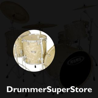 Mapex Pro M Floor Tom Drum 18x16 Vanilla Cream Pearl