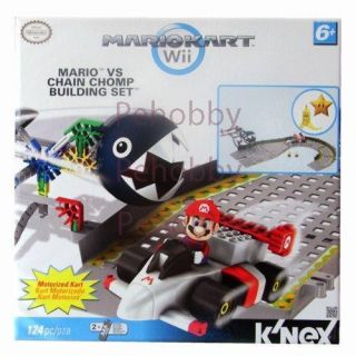 Mario Kart Wii KNEX Mario vs Chain Chomp Building Set