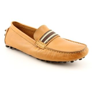 Steve Madden Marra Mens Size 13 Tan Leather Driving Mocs Shoes