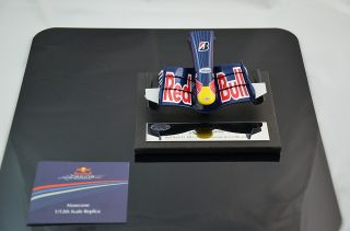 Mark Webber redbull RB3 Nose Cone Model Signed 1 12 Amalgam F1 M5167 2