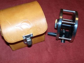 Hart Marquessa Fly Reel with Leather Case and Papers Excellent