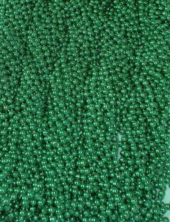 48 Green New Mardi Gras Beads 4 Dozen St Patricks Day