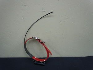 Used Marshall Lighted Tracking Collar Red Any Freq