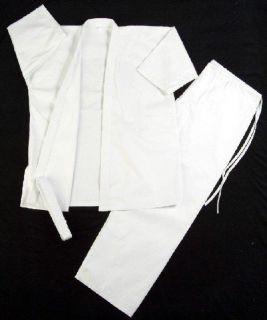 Martial Arts Karate Taekwondo Juno Uniform Size 1 White