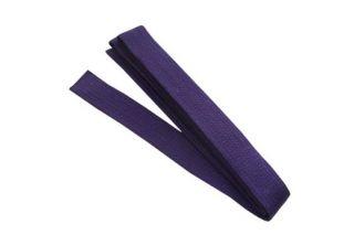 Martial Arts Karate TKD Taekwondo Judo Belt Sz 6 Purple
