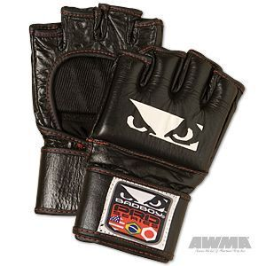 Bad Boy Leather MMA Gloves Martial Arts Equipment Gear