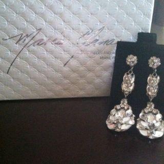 Maria Elena Swarovski Crystal Earrings