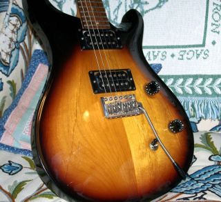 Vintage 1990 Old Factory Paul Reed Smith CE 24 PRS CE 24 CU 24 Solid