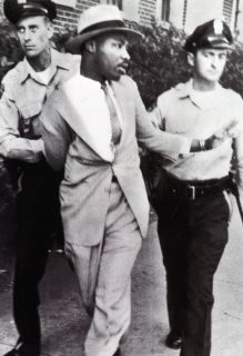 Martin Luther King Jr Poster Civil Rights Leader Arrested Non Violent
