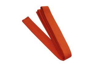 Martial Arts Karate Taekwondo TKD Judo Belt Size 7 Orange