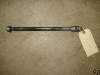 1984 Honda Shadow VT 700 Rear Axle 105