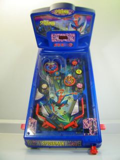 Marvel Spiderman Table Top Electronic Pinball Machine