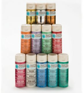 Martha Stewart Metallic Pearl Paint Kit