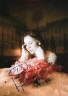 Marit Larsen Autogramm 20x30 cm Bild